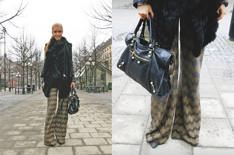 dagens outfit missoni
