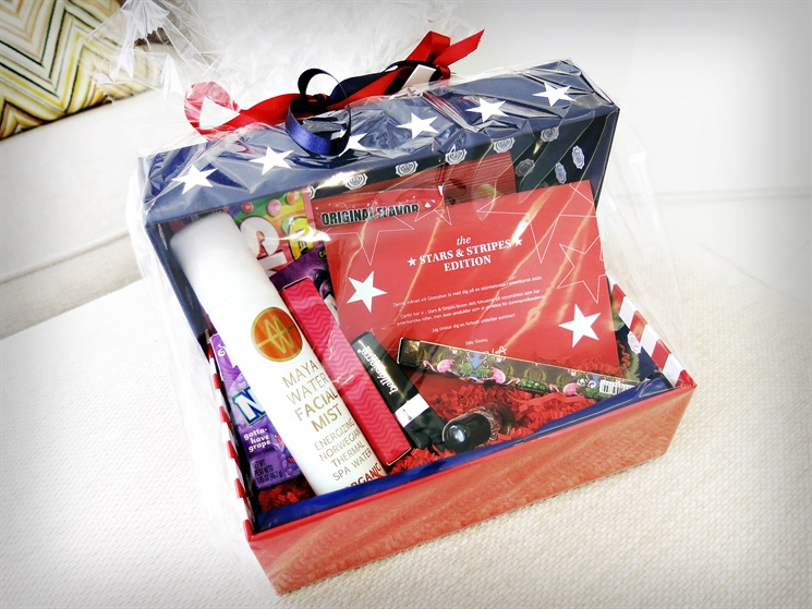 glossy box stars and stripes